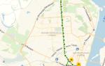 Автобус 80 в Воронеже: маршрут и остановки