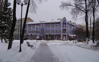 Воронеж — в списке самых популярных городов для рождественских путешествий