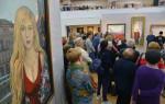 В Воронеже открылась выставка художника Ильи Глазунова