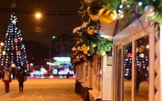 В Воронеже назвали самую красивую новогоднюю улицу
