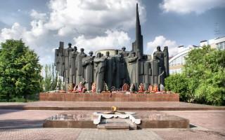 Военные памятники в Воронеже