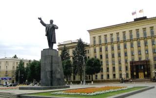 Три самых примечательных памятника Ленину в Воронеже
