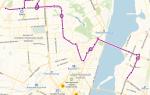 Маршрутка 18 в Воронеже: маршрут и остановки