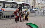 Супергерои сыграли на аккордеонах