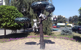 Street Sculptures in Voronezh