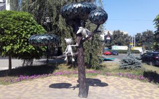Необычные памятники и скульптуры на улицах Воронежа