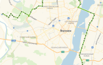 Автобус 16в в Воронеже: маршрут и остановки
