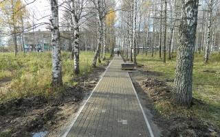 В Берёзовой Роще построят новую пешеходную дорожку