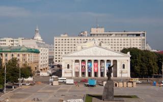 Объявлен возможный бюджет реконструкции Театра оперы и балета