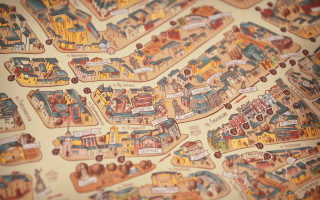 Voronezh in the Palm of Your Hand – Map and Souvenirs