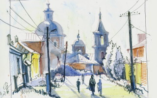 Voronezh: Hand-made Artistic Sketches