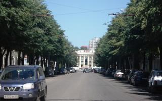 В Воронеже назвали самую красивую улицу