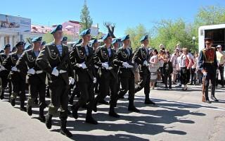 Парад Победы в Воронеже откроют военные в исторической форме