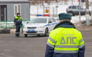 В Воронеже установят макеты машин ГИБДД