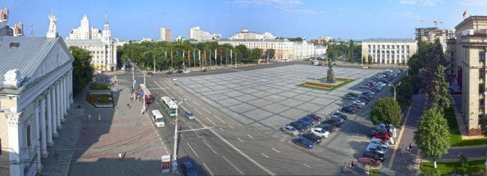 Lenin Square, Voronezh