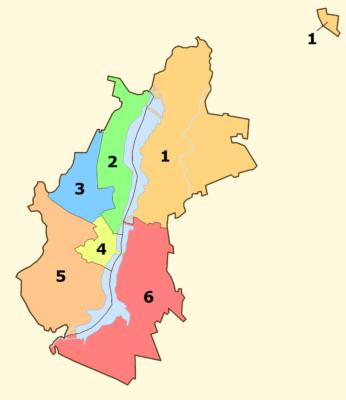 Voronezh Districts
