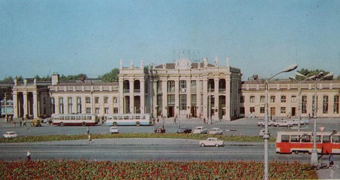 Вокзал в советские времена