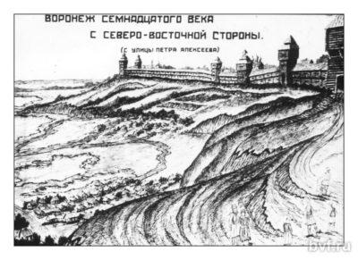 Воронеж 17 век