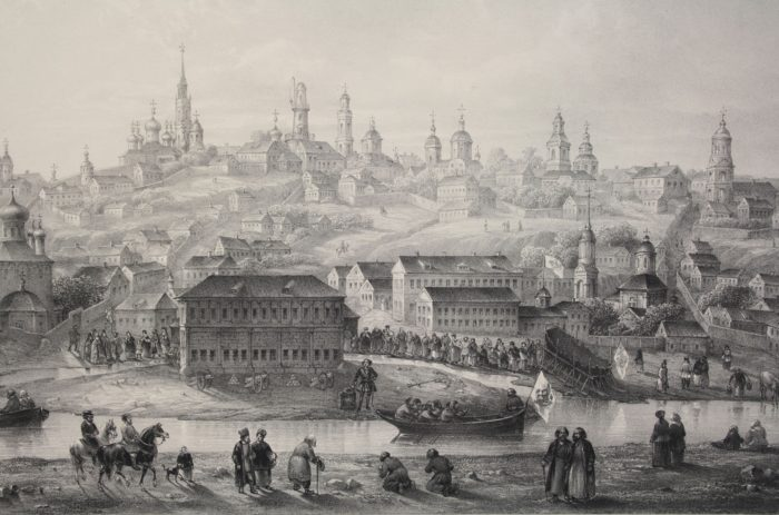 Voronezh old engraving