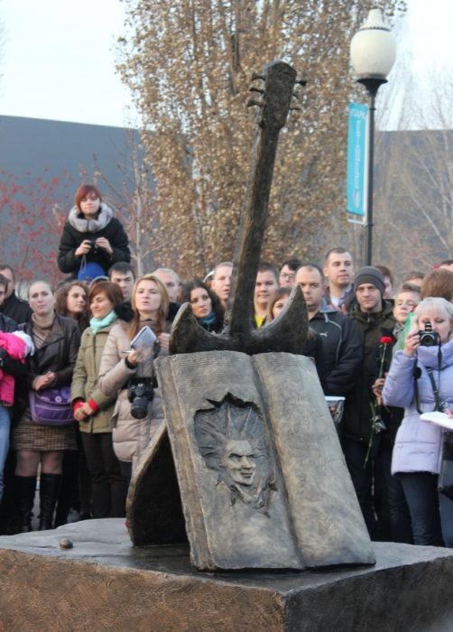 Monument to Mikhail Gorshenev