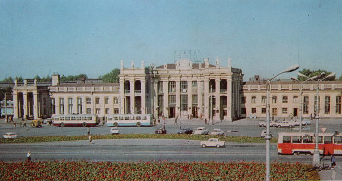 Voronezh Station in Soviet times