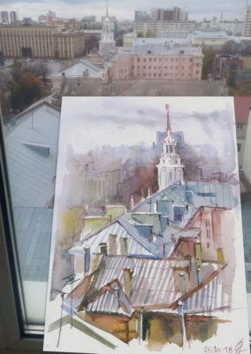 Sketches of Voronezh
