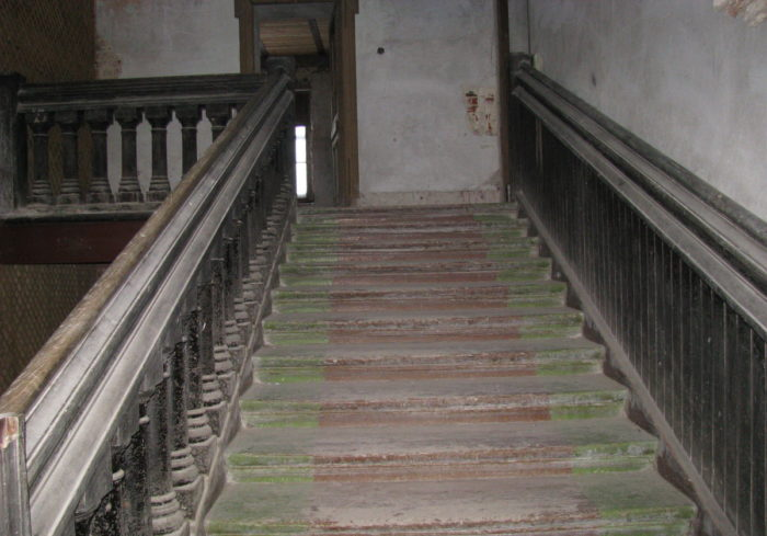 Stairs in Ramon Palace