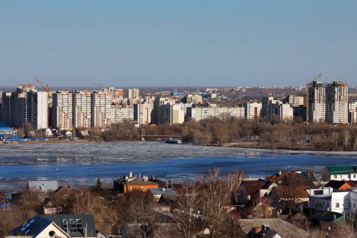 Водохранилище весной, Воронеж. Фото: В. Ермолова