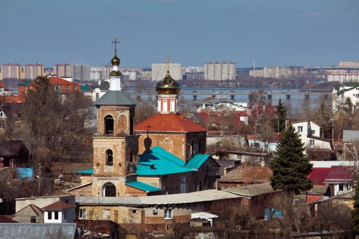 Церковь Богоявления господня, Воронеж. Фото: В. Ермолова