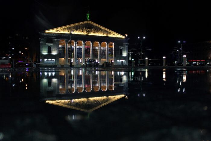 Театр Оперы и балета, Воронеж. Фото: В. Ермолова
