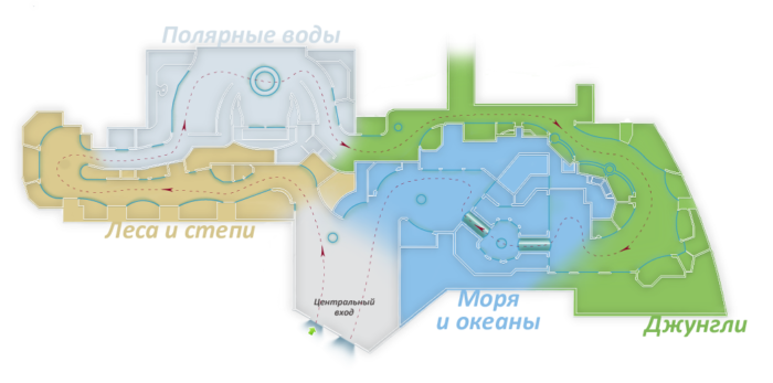 Plan of Voronezh Aquarium
