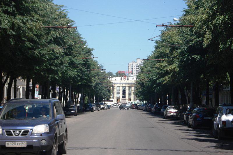 улица Мира в Воронеже