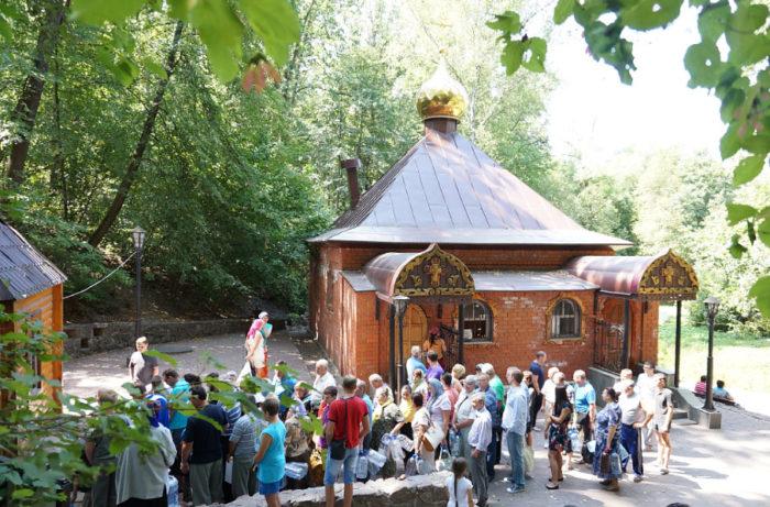 Источник Свято-Тихоновского Преображенского монастыря