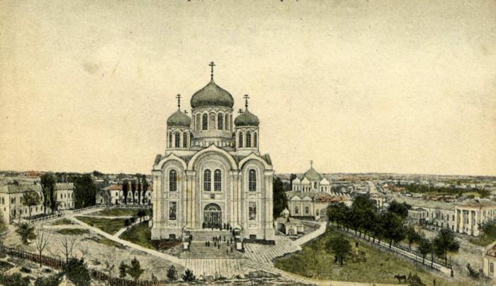 Задонск, старинная открытка