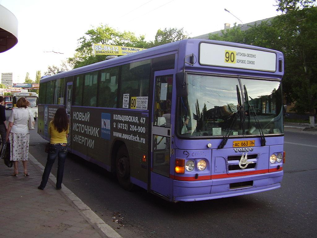 Автобус в Воронеже