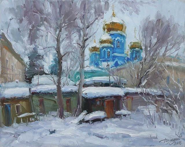 """Ю.Демьянов """"Дворик"""""""