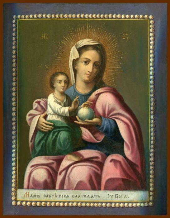 Мария обрете благодать у Бога