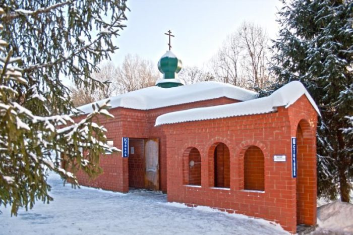 Купель Тюнинского монастыря
