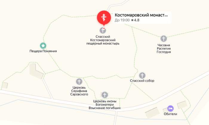 План Костомарово