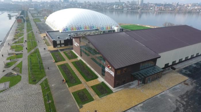 Спортивный комплекс на Придаченской (Чернавской) дамбе