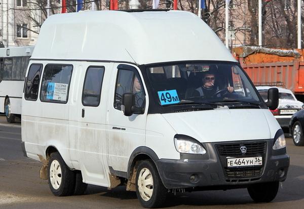 Маршрутное такси 49м