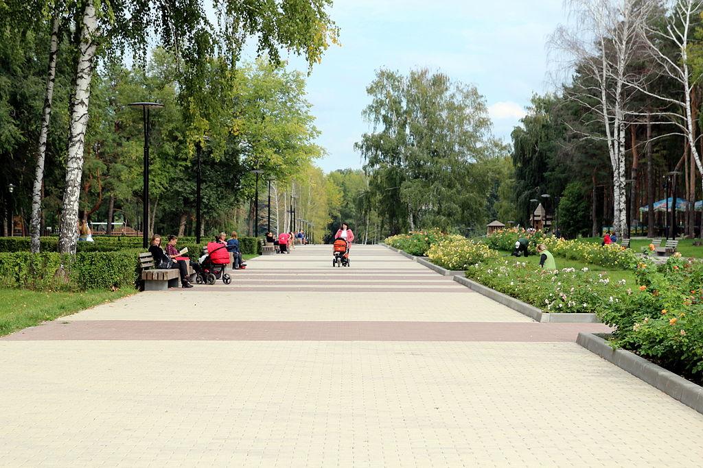 Парк в Воронеже