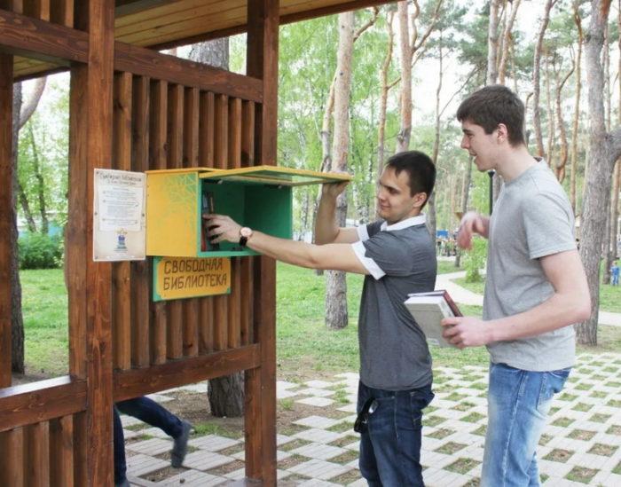 Библиотека в парке