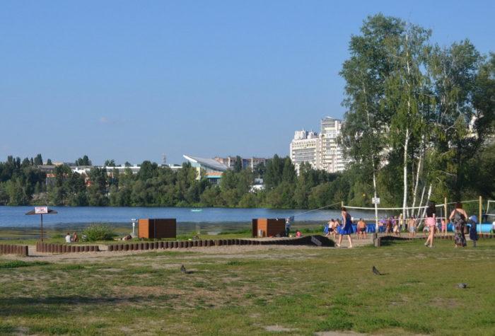 Волейбол в парке
